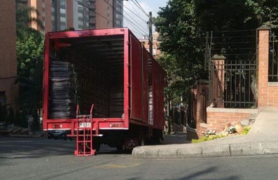 Camión de Mudanza